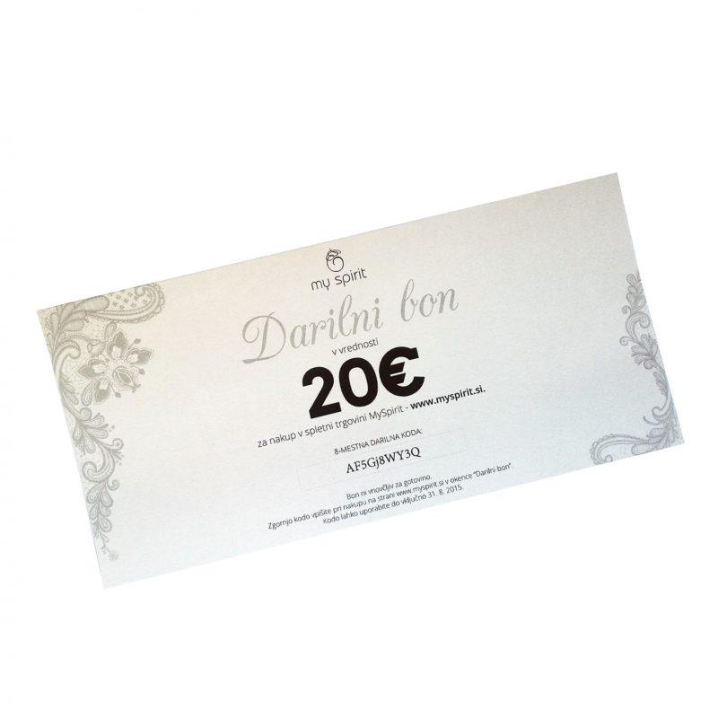 Darilni bon 20€