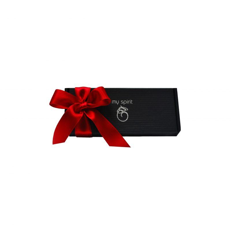 Mala črna darilna embalaža