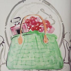 Obvezne sestavine ženske torbice