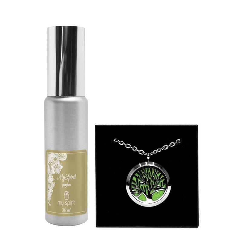 Parfumska verižica – Drevo + parfum